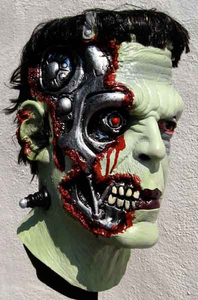 frankenator mask side
