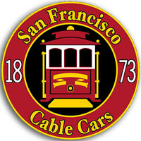 San Francisco Cable Cars Sticker